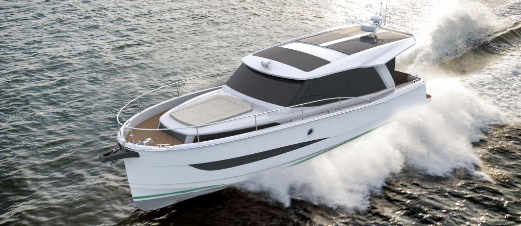 Greenline Builder Svp Introduced Greenline 36 Hybrid Yacht
